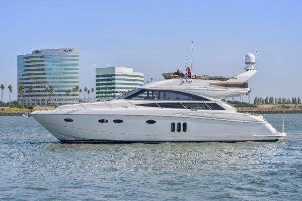 Viking Princess 54 Flybridge Profile