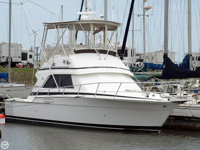 Bertram 37 Sport Fisherman 1988 Bertram 37 Sportfisherman for sale in Palacios, TX