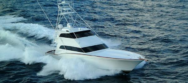 Sea Force IX Enclosed Bridge Sportfisherman
