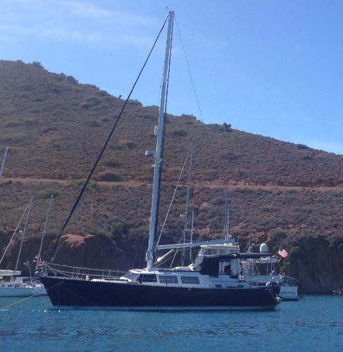 Seamaster 46 At Anchor