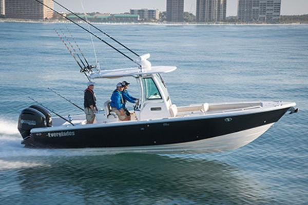 Everglades 273 Center Console Manufacturer Provided Image