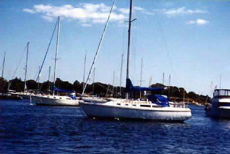 Catalina 34 sistership