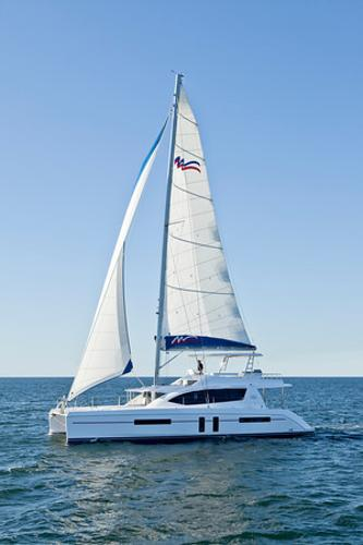 Moorings 5800 Sailing