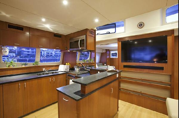 Moorings 5800 Galley