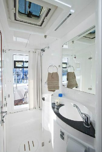 Moorings 5800 Shower Room
