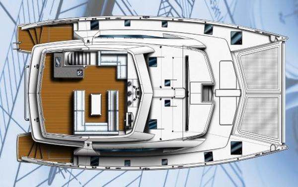 Moorings 5800 Flybridge Layout Plan