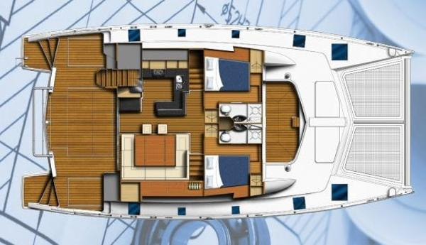 Moorings 5800 Main Deck Layout Plan