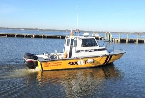 Boston Whaler 27' Fiberglass & Aluminum SeaTow Boat