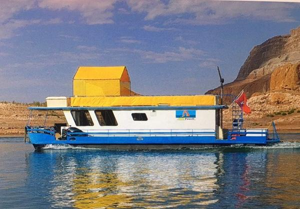 Boatel Pontoon Houseboat