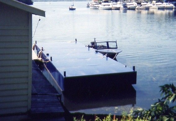 New 36' x 12' Steel Barge
