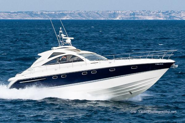 Fairline Targa 52 GT Targa 52 at Sea, actual Boat