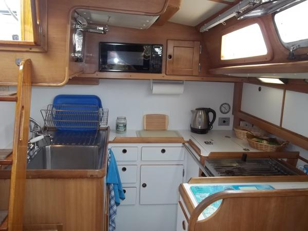 Full Galley with Tons of Storage