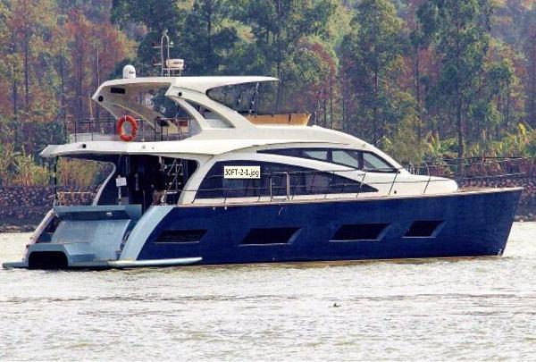 Allmand Yachts Catamaran 50