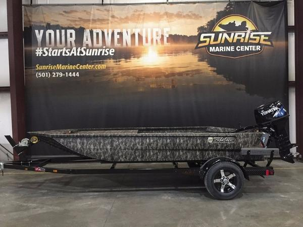 Edge Duck Boats Diamond Back 556DB Game Keeper