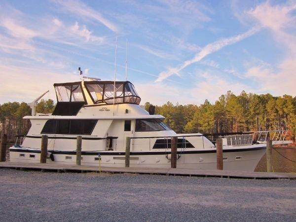 Hatteras 53 Extended Deckhouse Motor Yacht