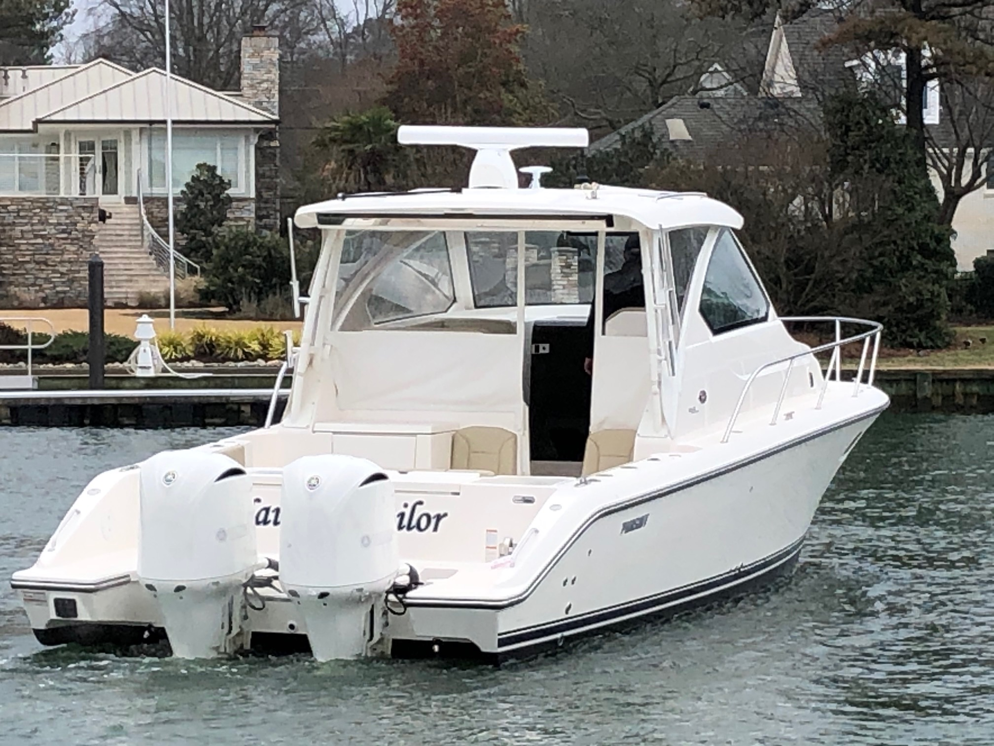 Pursuit 355 Offshore-Fresh Water