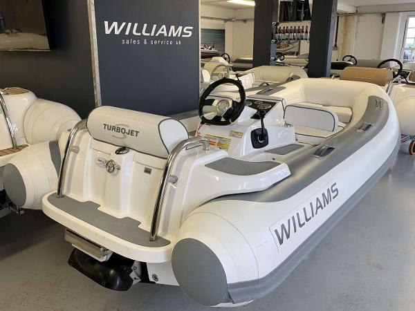 Williams Jet Tenders Turbo Jet 325 Sport 100 HP