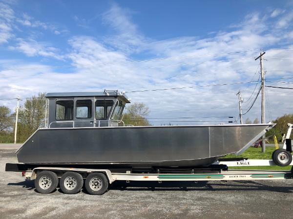 Aluminum Landing Craft Utility work boat