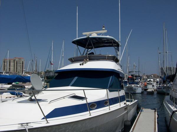 Mediterranean 38 Convertible Port Side