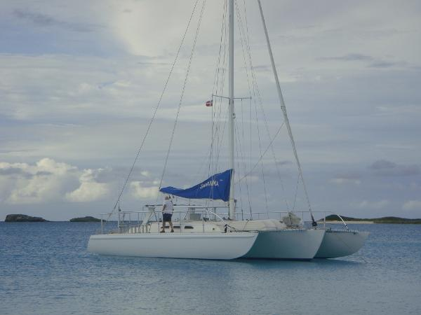 Cross Custom Trimaran Multicross 50 Cruiser
