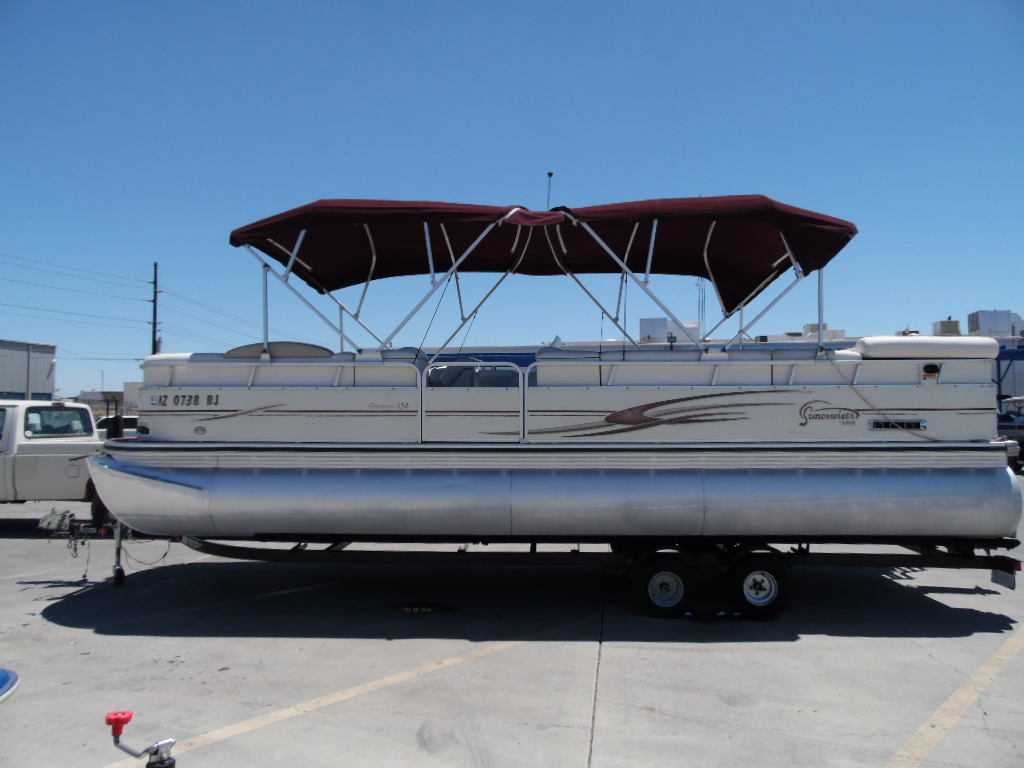 Used pontoon lowe boats for sale for Fishing boats for sale by owner