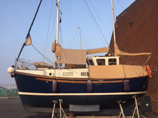 Colvic Watson 26 Owners photo when out earlier this year