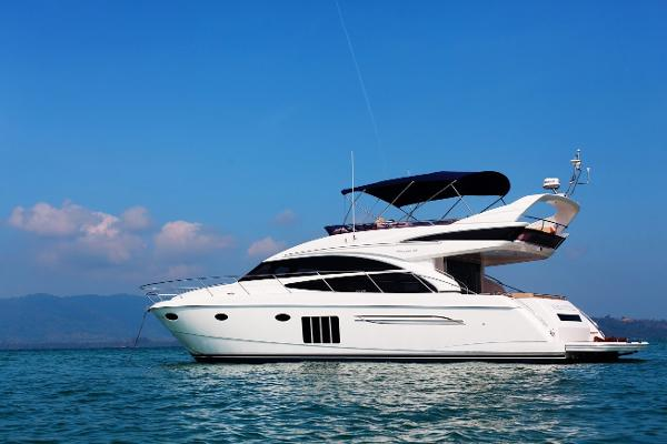 Princess 60 On Anchor