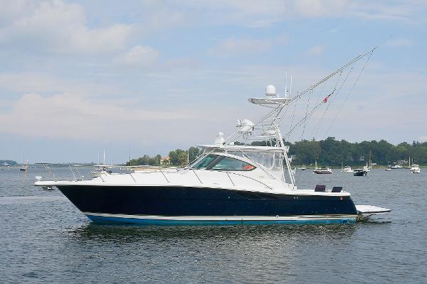 Tiara 3800 Open Port Side