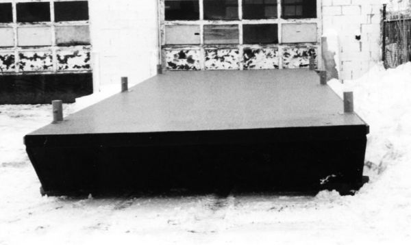 New 30' x 10' x 2.5' Steel Barge