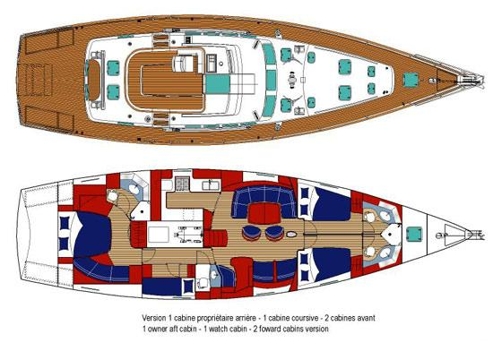 Manufacturer Provided Image: Deck and Interior Layout