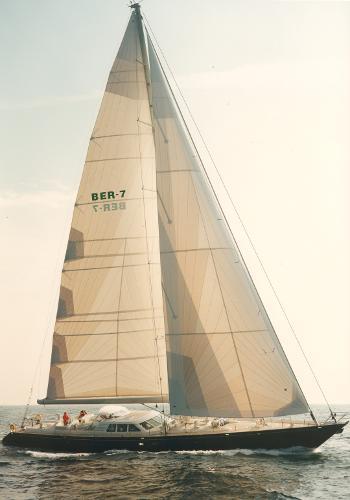 Royal Huisman Sloop Rigged Sailing Yacht