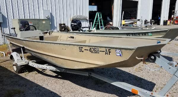 Landau Boat Co 16 Jon Boat