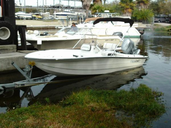 Cape Craft 180 Center Consiole w 100 HP Honda