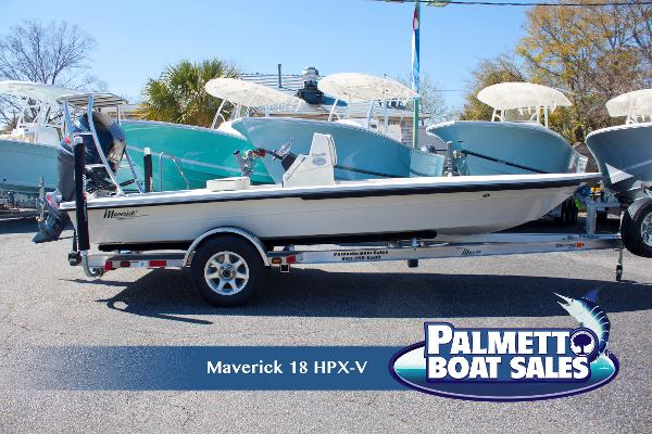 Maverick Boat 18 HPX-V Profile