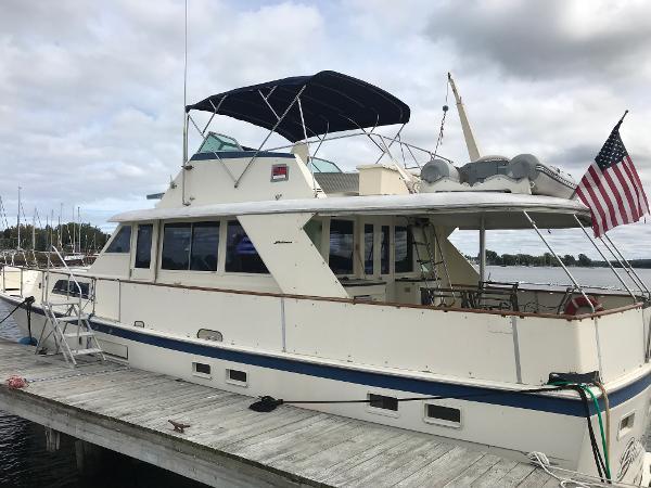 Hatteras 53 Motoryacht