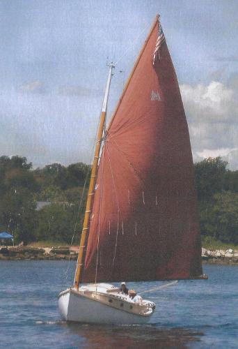 Menger 23 Catboat