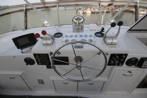 Flybridge helm