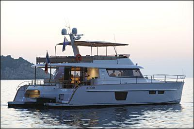 Fountaine Pajot Queensland 55 Manufacturer Provided Image: Fountaine Pajot Queensland 55 Side View