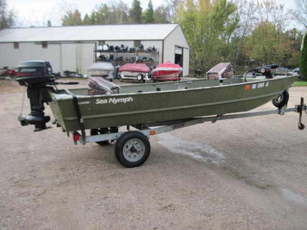 Sea nymph new and used boats for sale in wi for Fishing boats for sale craigslist
