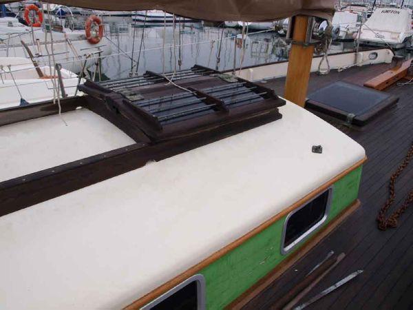 Classic Pilot Cutter coach-roof