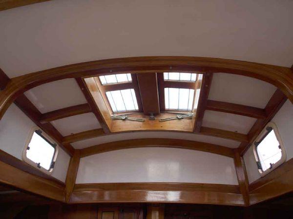 Classic Pilot Cutter ceiling