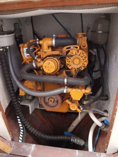 Classic Pilot Cutter engine