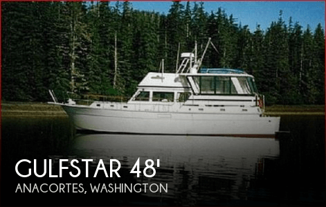 Gulfstar 44 Motor Yacht 1979 Gulfstar 44 Motor Yacht for sale in Anacortes, WA