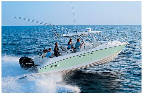 Boston Whaler 320 Outrage Cuddy Cabin Manufacturer Provided Image