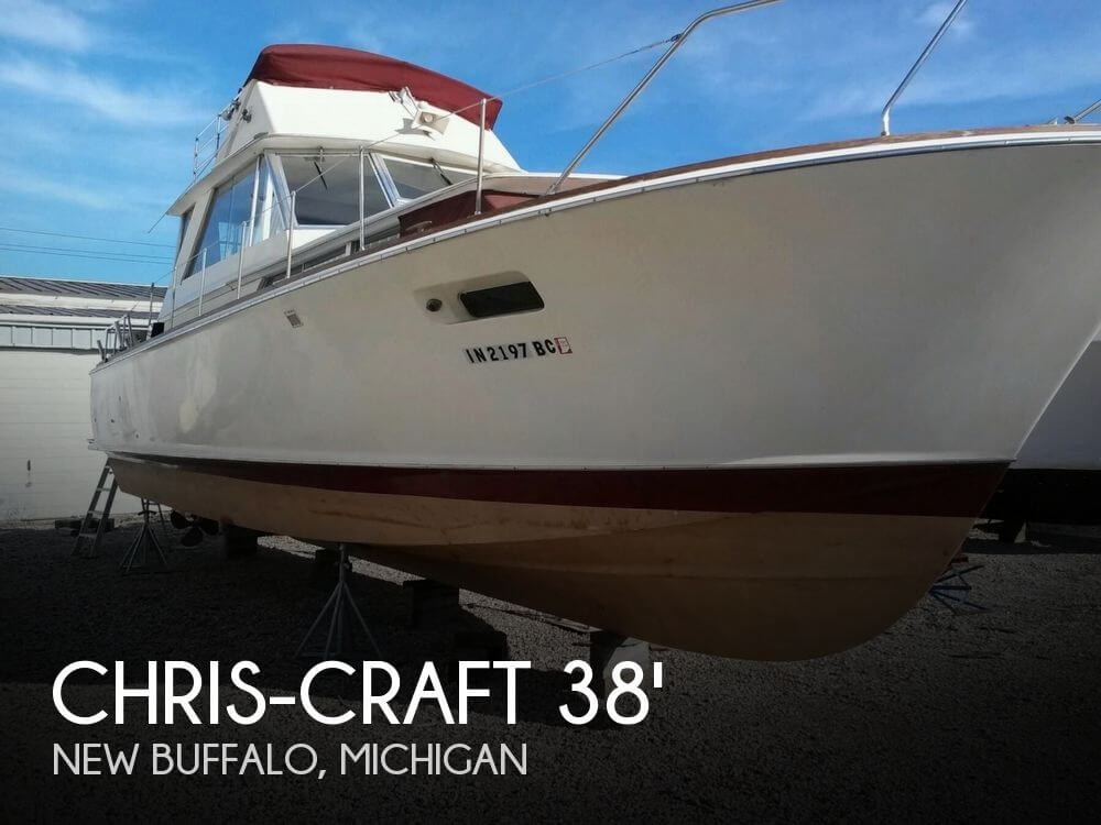Chris-Craft 38 Commander Sedan 1968 Chris-Craft 38 Commander Sedan for sale in New Buffalo, MI