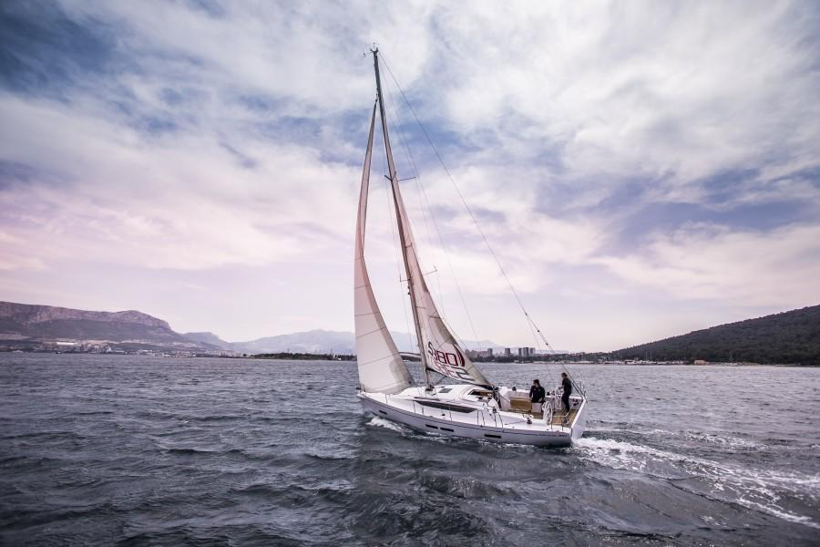 Salona S380 On the Water