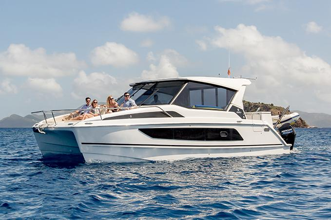 aquila 36 power catamaran price