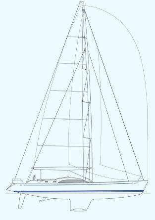 Nautor Swan 75 S Sail Plan