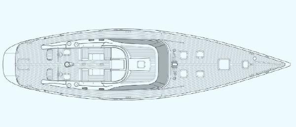 Nautor Swan 75 S Deck Plan