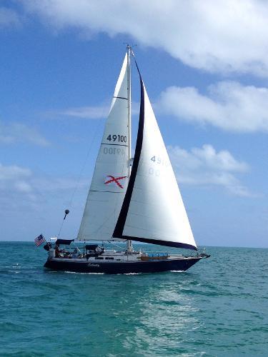 C&C 38 MK1 38-1 C&C 38 Celerity under sail